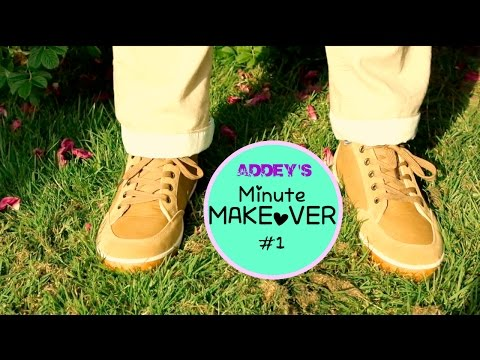 Minute Makeover #1 Chino Upcycle