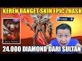 GILA 24.000 DIAMOND UNTUK ZHASK EPIC!!?? SKIN BARU KEREN BANGET !!!  - Mobile Legend Bang Bang