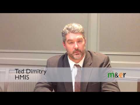 Ted Dimitry on the opening day at the 2016 HMIS