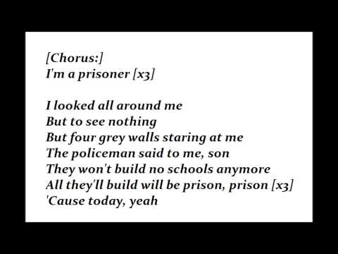 Lucky Dube  - Prisoner Lyrics