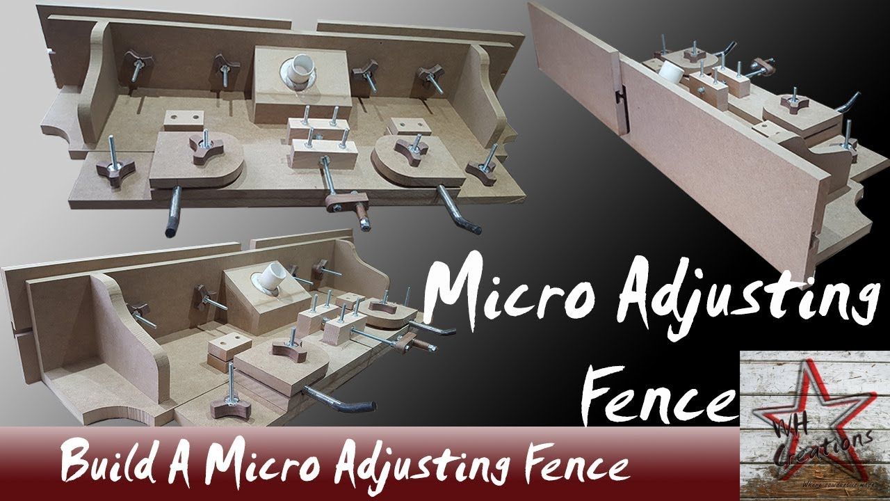 Micro adjustment fence build for the ultimate wood router table micro adjustment fence build for the ultimate wood router table keyboard keysfo Image collections