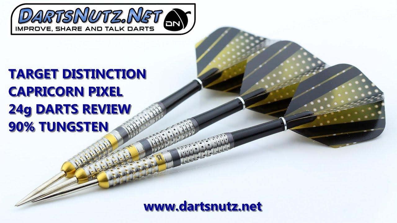 Target Distinction Capricorn Pixel 24g darts review - YouTube ddf09a3b66