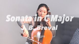 Breval Cello Sonata No.1 Alleg…