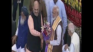 संसदीय दल की बैठक में NDA के सभी दलों ने नरेंद्र मोदी को चुना अपना नेता, देखिए