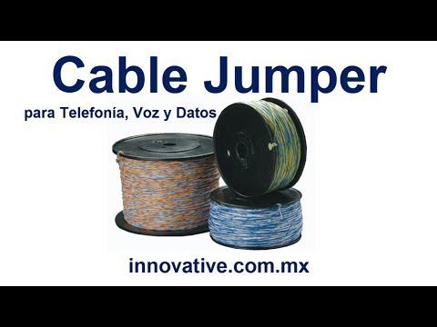 Cable Jumper para Telefonia, Conmutadores, Multilineas, PBX, Telefonos, Cuarto de Telecomunicaciones