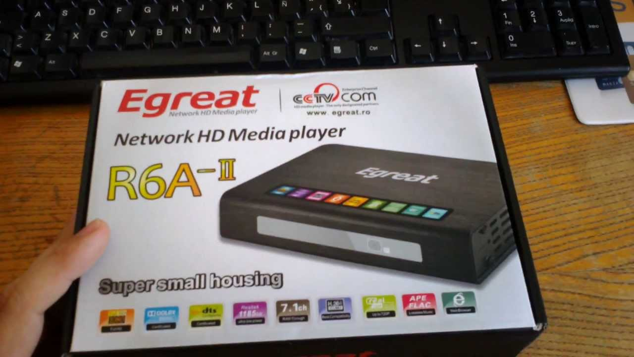 Drivers Update: Egreat R6A-II Plus Media Player