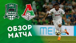 «Краснодар» - «Локомотив» - 2:0. Обзор матча