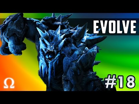 FROSTED MINI-HUNTERS, SO TASTY! | Evolve Stage 2 #18 Glacial Behemoth Monster Gameplay