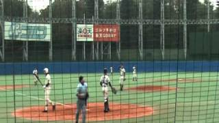 2009秋 日大三高荻原辰朗選手帝京戦ホームラン