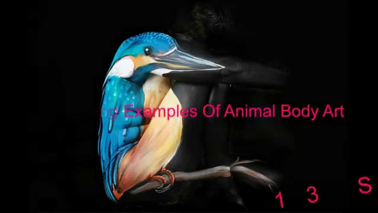 13 Stunning Examples Of Animal Body Art Youtube