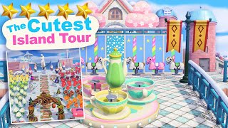 The CUTEST 5 Star Island Tour (830 Hrs) in Animal Crossing New Horizons