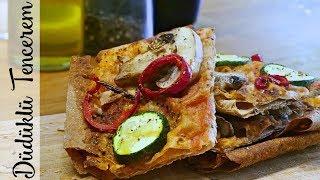 Karabuğday Pizza Tarifi - Kolay Pizza