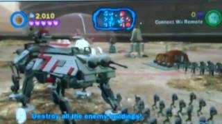 lego star wars 3 the clone wars geonosis battle wii