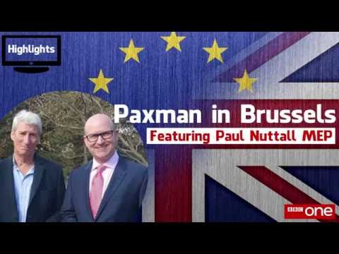 Paul Nuttall on Paxman in Brussels