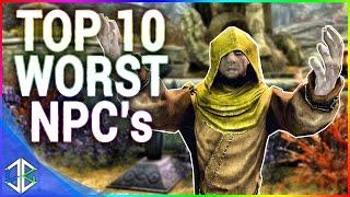 Skyrim Top 10 - Worst NPC's