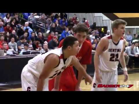 Wisconsin Commits Kobe King and Nathan Reuvers Collide at 2017 Border Battle
