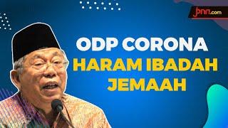 Ma'ruf Amin: ODP Corona Haram Salat Jemaah di Masjid - JPNN.com