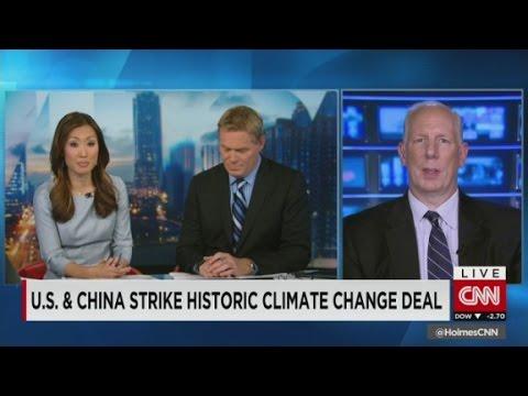 U.S.-China environmental agreement