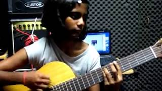 175) VIDHYAH RUPINI (CLASSICAL GUITAR COVER) - TEMPLE OF THE KING - RAINBOW