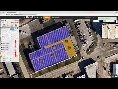 5 Minute Commercial Solar Design in HelioScope