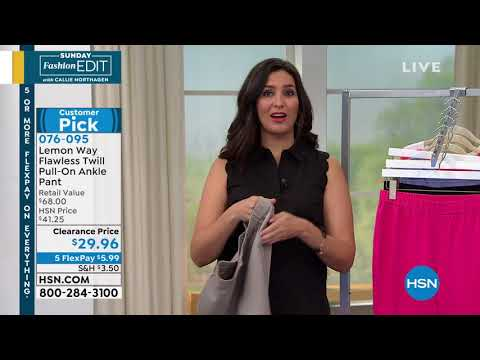 HSN | Sunday Fashion Edit with Callie Northagen . http://bit.ly/2FwJ1RD