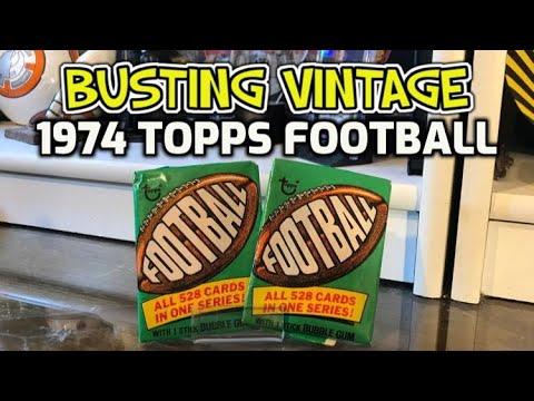 Download BUSTING VINTAGE: 1974 Topps Football Fun Packs!