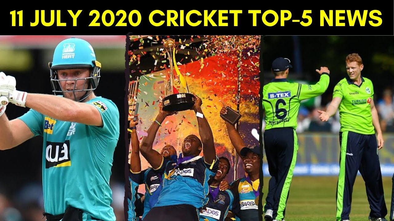 Cricket News: CPL 2020 Start Date, Big-Bash League Draft, Ireland ODI Team vs England, Beth Mooney!!