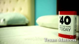 Texan Mattress - Best Mattress Prices, Same Day Delivery, No Credit Check