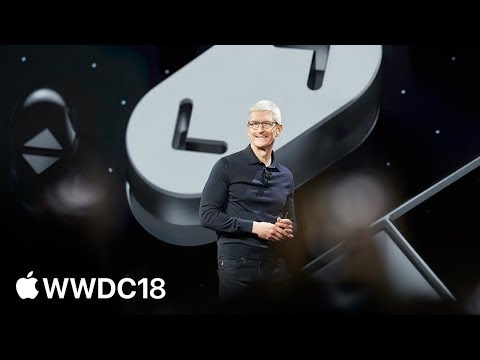 WWDC 2018 Keynote — Apple Mp3