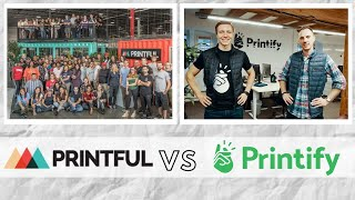 Printful vs Printify Review | Shirt Quality Comparison + Pros & Cons for your POD Business