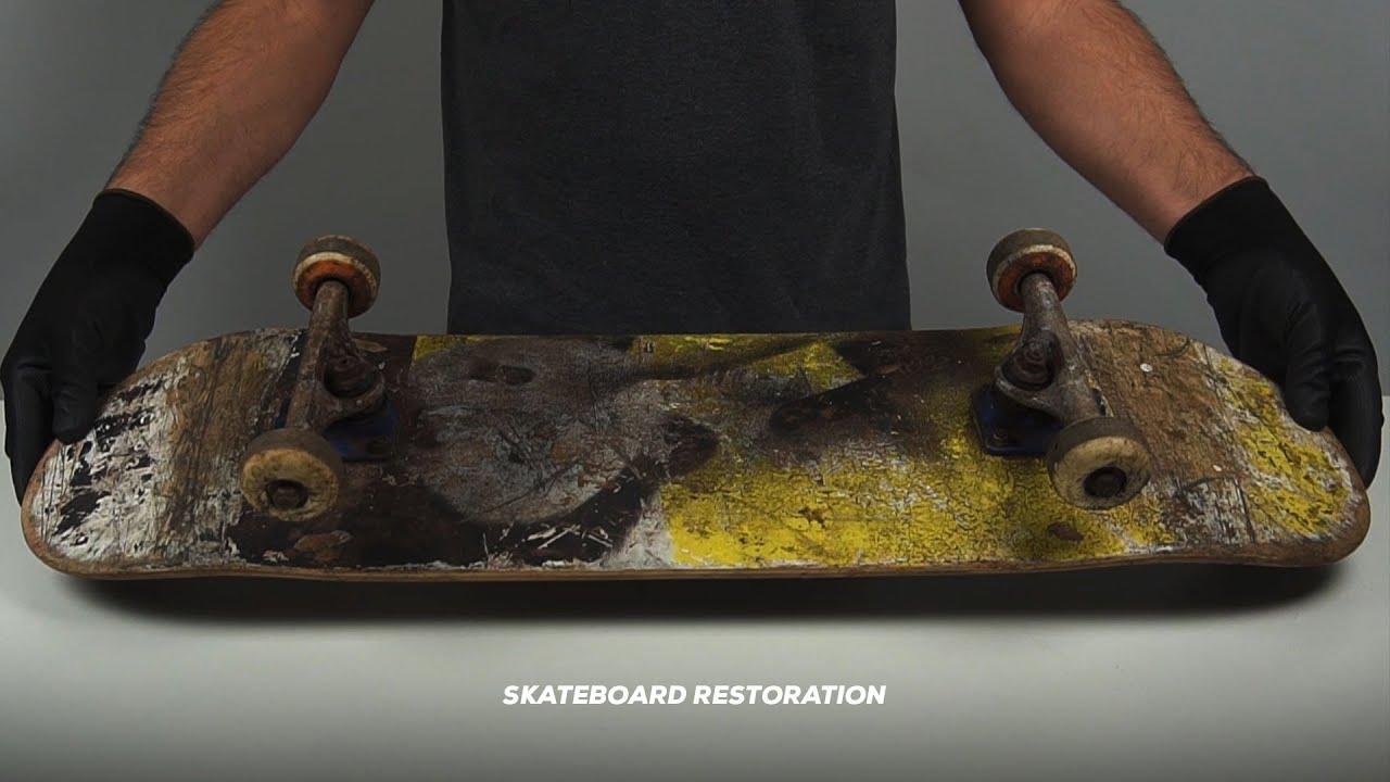 SKATEBOARD RESTORATION  - My RØDE Reel 2020