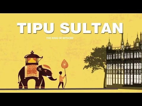 Tipu Sultan History In English - King Of Mysore | Great Ruler | Facts | History|Biography
