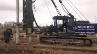 Repeat youtube video Piledriving rig Junttan at Verhoef.