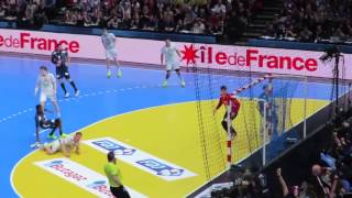 Egalisation de Mahé - France 33 26 Norvège - Finale du mondial de handball  2017