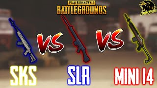 SKS vs SLR Rifle vs MINI 14 | Kon Hai Sabse Best?