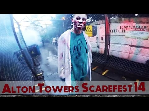 Alton Towers Halloween ScareFest 2014