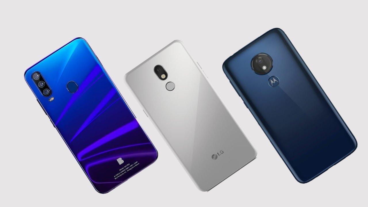 LG Stylo 5 vs Moto G7 Power vs BLU G9 Pro Specs Comparison