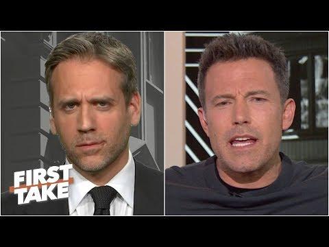 Download  Ben Affleck confronts Max Kellerman about his Tom Brady cliff theory | First Take Gratis, download lagu terbaru
