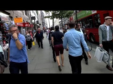 Google Glass London tour of Oxford Street and Holborn - Google Glass Diary