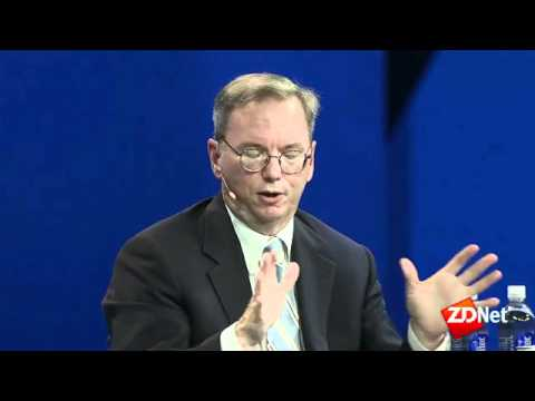 Google's Eric Schmidt on Steve Jobs, Microsoft, patents, and more