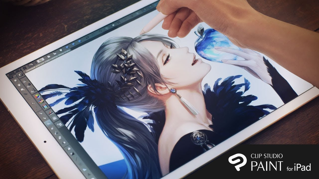 CLIP STUDIO PAINT for iPad - The best drawing app for manga & comics