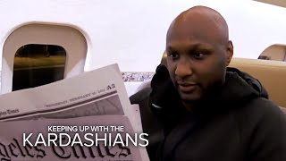 KUWTK | Khloé Stresses Over Lamar Odom's First Public Appearance | E!