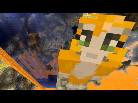 Minecraft Xbox - Cave Den - Water Wall (51)