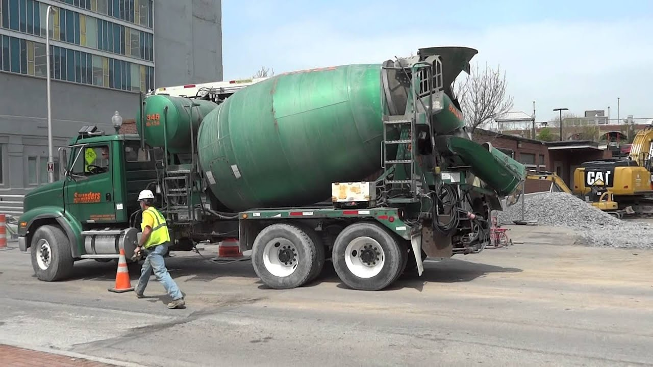 Freightliner F112 Cement Truck Youtube