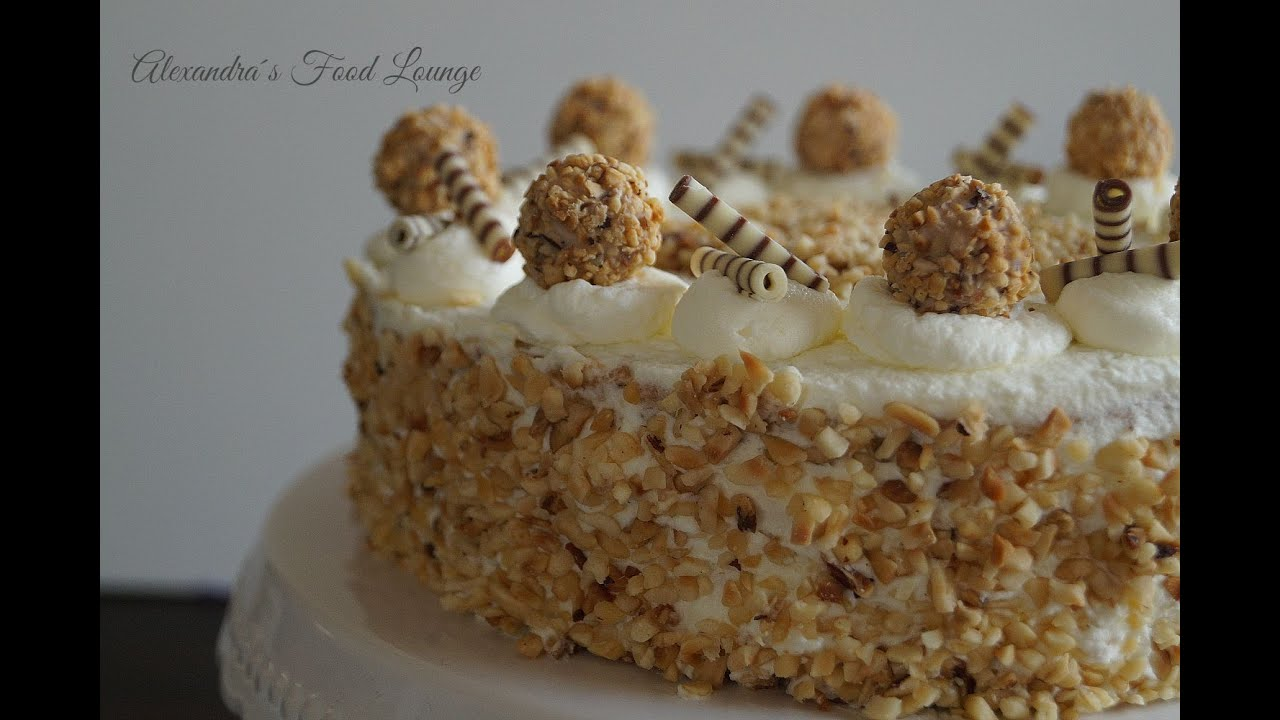 Haselnuss-Sahnetorte, mit Giotto - YouTube
