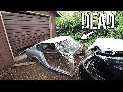 TOW TRUCK DRIVER CRASHED 3 OF MY CARS AND KILLED MY 240Z.