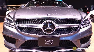 2017 Mercedes CLS550 4matic - Exterior and Interior Walkaround - 2017 Detroit Auto Show