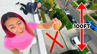 DON'T CRACK THE EGG AND WIN - Egg Drop Challenge
