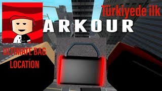 Roblox parkour ! ULTİMATE BAG! yeri