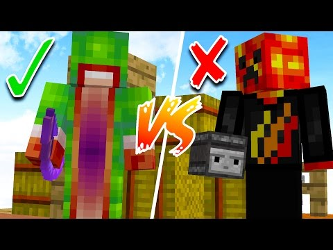 WHO IS THE BETTER MINECRAFT PLAYER